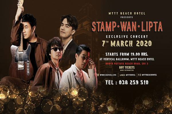 MYTT Beach Hotel Presents Stamp. Wan. Lipta Exclusive Concert - Mytt Beach Hotel -